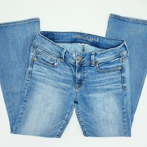 American Eagle Skinny Jeans Stretch Kick Boot